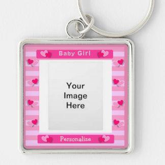 Baby Girl Keychain