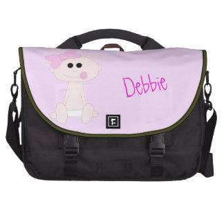 Baby Girl Laptop Bag Template
