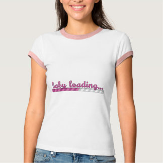 Baby Girl Loading Pregnancy Shirt