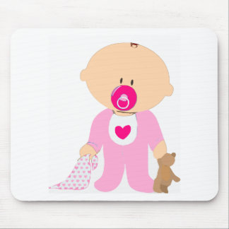 Baby Girl Mouse Pad