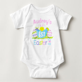 Baby Girl My First Easter Bunny Bodysuit