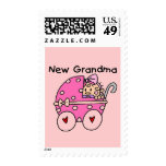 Baby Girl New Grandma T-shirts and Gifts Postage Stamps