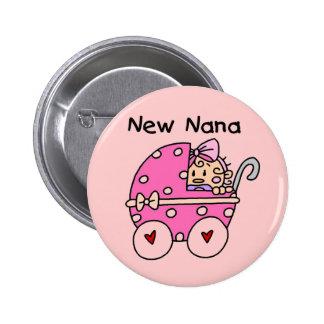 Baby Girl New Nana T-shirts and Gifts Pin