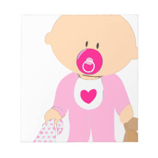 Baby Girl Notepad