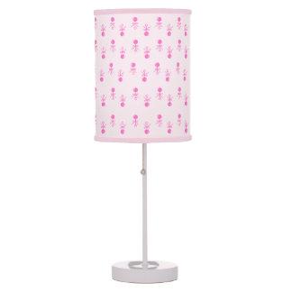Baby girl nursery table pendant lamps zazzle for Baby girl nursery lighting