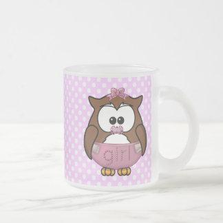 baby girl owl coffee mug