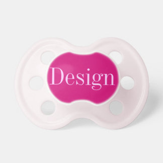 Baby Girl Pacifier: Raspberry Pacifier