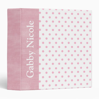 Baby Girl Personalized Custom Photo Album Gift 3 Ring Binder