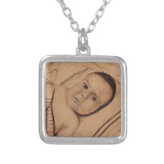 baby girl personalized necklace