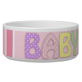 Baby Girl Pet Bowl