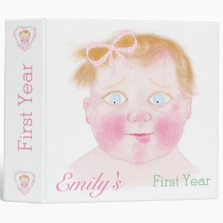 Baby girl Photo Album Bin by BabyLaia. Binder