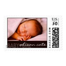 Baby Girl Photo Postage