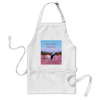 Baby Girl pink Adult Apron