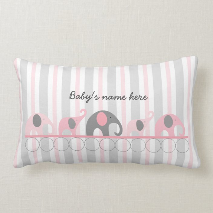 Baby Pink Elephants Nursery Decor