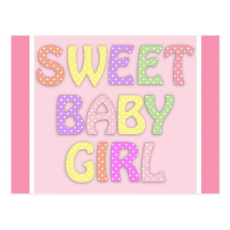 Baby Girl Postcard