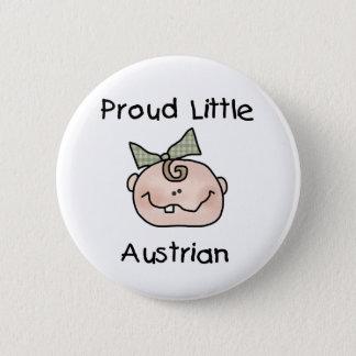 Baby Girl Proud Austrian Button