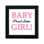 Baby Girl Proud Sister Gifts Trinket Box