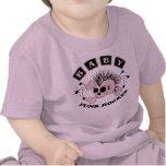 Baby Girl Punk Skull Tees