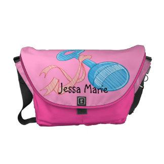 Baby Girl Rattle Baby Diaper Bag Messenger Bag