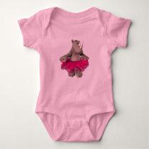 Baby Girl Rhino Baby Bodysuit