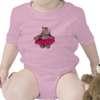 Baby Girl Rhino Baby Bodysuits