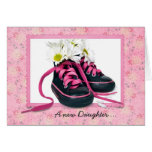 Baby Girl Shoes Greeting Card