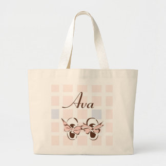 Baby Girl Shoes Tote Bag