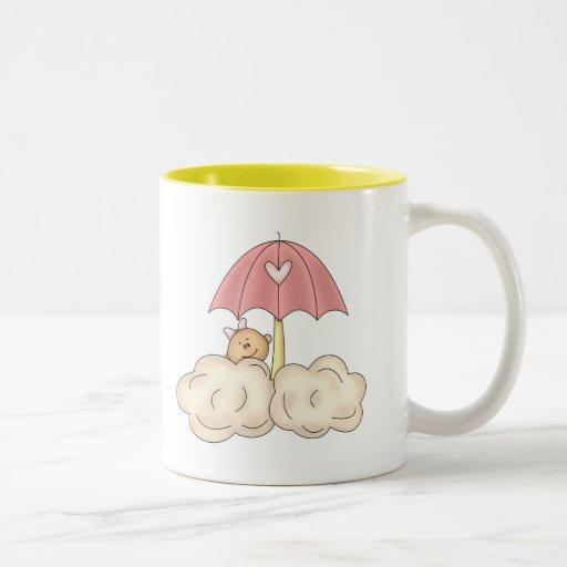 Baby Girl Shower Coffee Mugs
