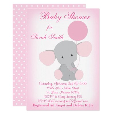 Twin girls elephants chevron print baby shower invitation zazzle filmwisefo