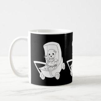Baby Girl Skeleton Baby Shower Mugs