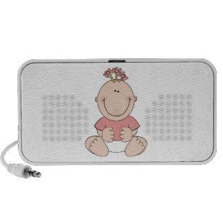 Baby Girl Mini Speakers