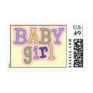 Baby Girl Stamp