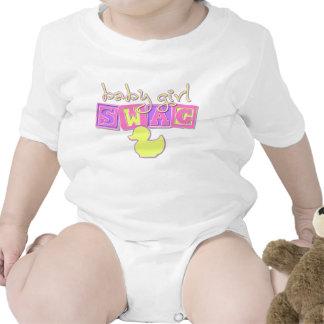 Baby Girl Swag Baby Bodysuits