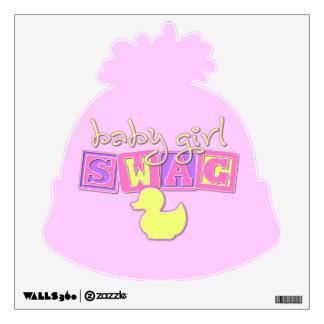Baby Girl Swag Wall Graphics