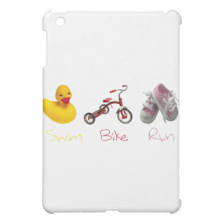 Baby Girl Swim Biek Run iPad Mini Case