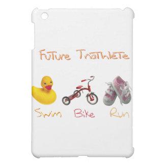baby girl swim bike run iPad mini case