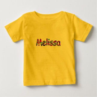 Baby girl t-shirt for Melissa