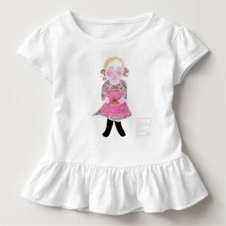 Baby girl Toddler Ruffle Tee by babyLaia