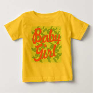Baby Girl - Tropical look Infant T-shirt
