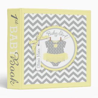 Baby Girl Tutu Memory Book Album 3 Ring Binder
