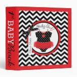 Baby Girl Tutu Memory Book Album Vinyl Binder