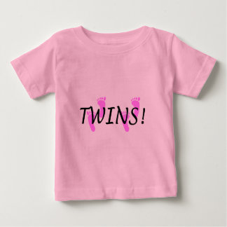 Baby Girl Twins Baby T-Shirt