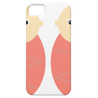 Baby Girl Twins Pink Shower Cute Pattern iPhone 5 Covers