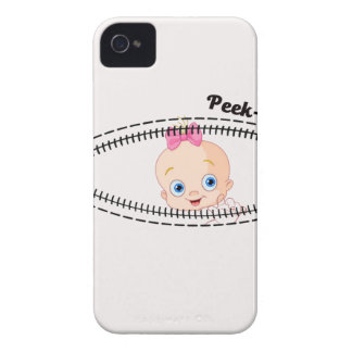 baby girl zip iPhone 4 Case-Mate case