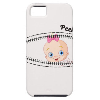 baby girl zip iPhone SE/5/5s case