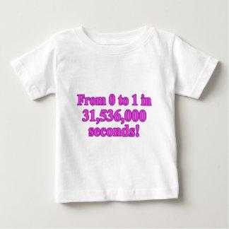 Baby Girl's 1st Birthday Shirt