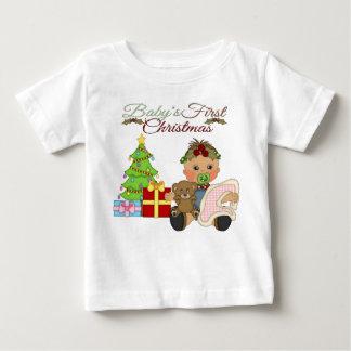 Baby Girl's 1st Christmas Infant T-Shirt