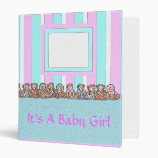 Baby Girls Album 3 Ring Binders