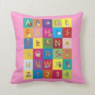 Alphabet Pillows - Alphabet Throw Pillows Zazzle