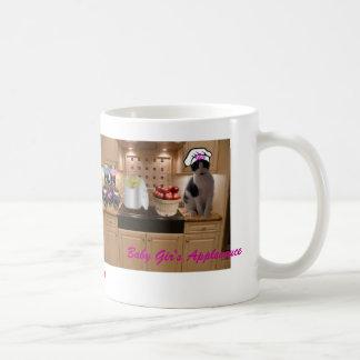 Baby Gir's Applesauce Mug